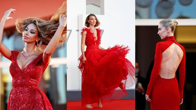 Tako su moćne: Crvena osvojila svijet filma i glamura u Veneciji