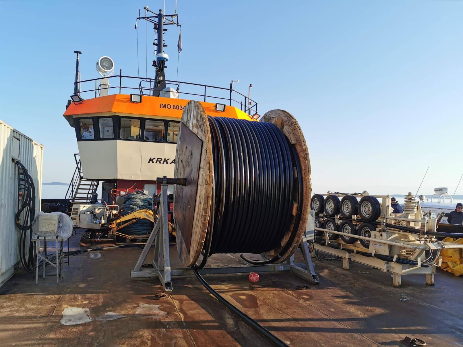 HEP: Pustili u rad podmorski kabel između Silbe i Premude