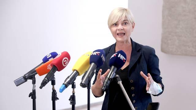 Zagreb: Sandra Benčić komentirala je slucaj Janaf