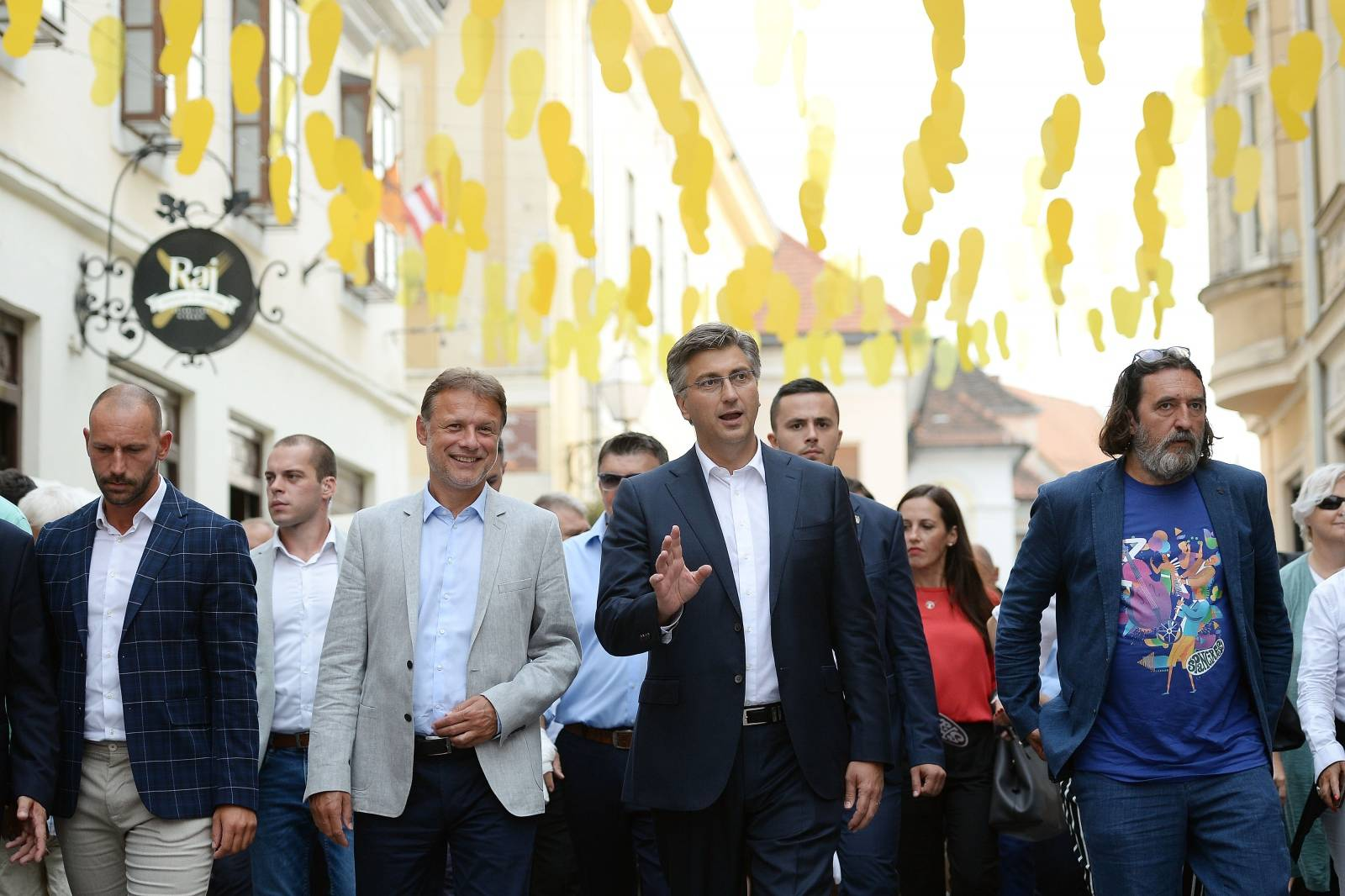 Varaždin: Premijer Plenković posjetio je Špancirfest