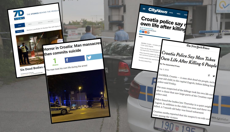 'Horor, masakr, kaos': Svjetski mediji o ubojstvu na Kajzerici