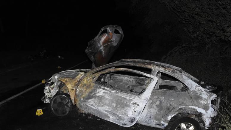 Mladi motorist (17) preminuo u bolnici. U sudaru kod Čakovca potpuno je izgorio automobil