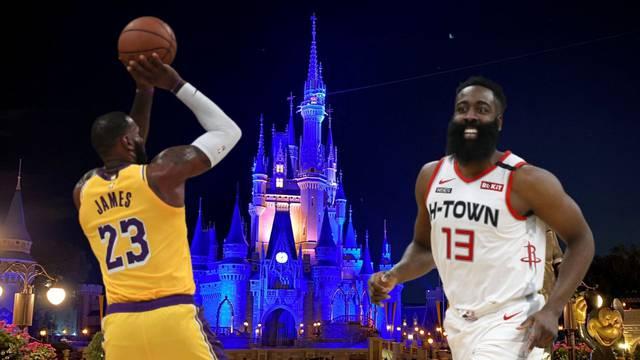 Završnica iz snova: NBA liga nastavit će se u Disneyworldu?