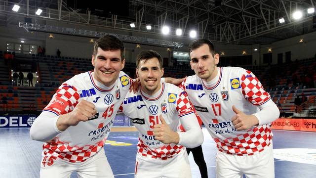 2021 IHF Handball World Championship - Preliminary Round Group C - Croatia v Qatar