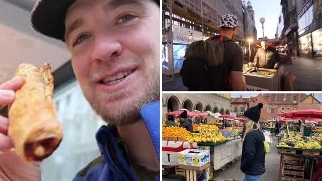 Poznati Amerikanac u Zagrebu: Sa sestrama je isprobavao našu hranu, prvi put kušali kestene