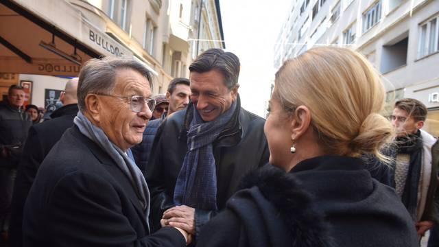 Neformalni ručak: Kolinda se susrela s Pahorom u Zagrebu