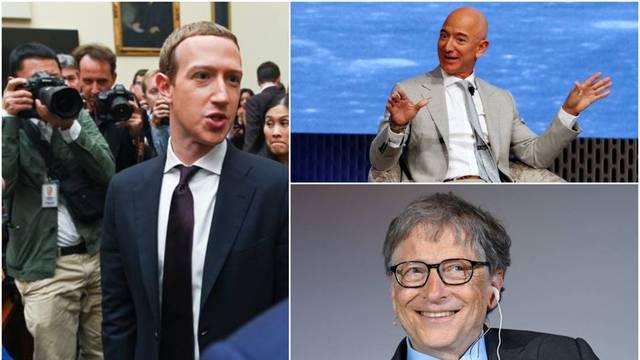 Evo mene moji ljudi, došao sam do stote milijarde: Zuckerberg  se pridružio Gatesu i Bezosu...
