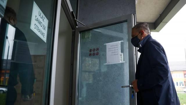 Sarajevo: Direktor OSA-e Osman Mehmedagić dolazi na sud