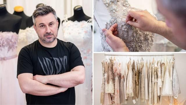 Boris Pavlin: Couture haljine se rade duže i po mjeri, a klijentice nam dolaze avionom na probe