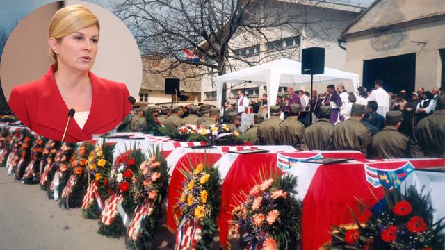 Predsjednica stiže u Lovas gdje će se pokloniti žrtvama rata