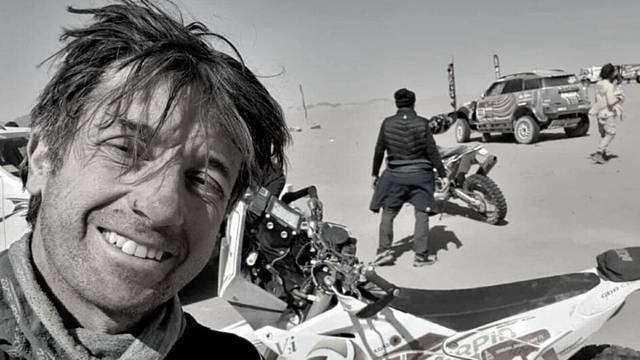 Motociklist umro od posljedica teškog pada na reliju Dakar