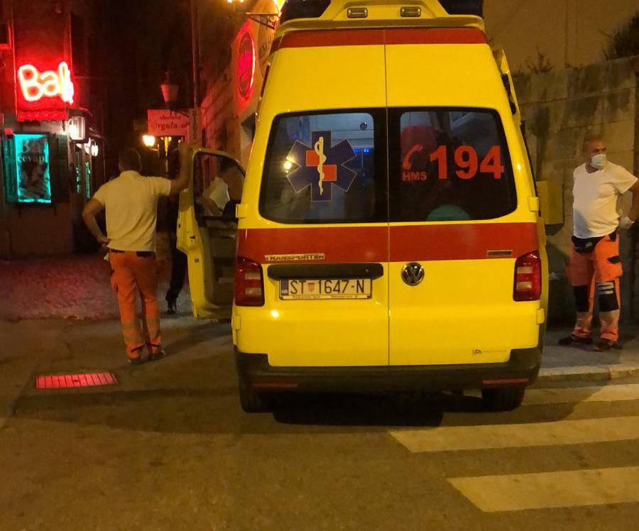 Sukob u Splitu: Jedan Britanac stigao na hitnu sa slomljenim nosom, drugi s ubodnom ranom