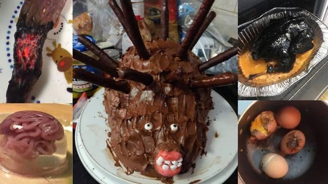 Kuhari amateri podijelili fotke svojih neuspjeha: Horor jež, uistinu mrtva purica, afro jaje...