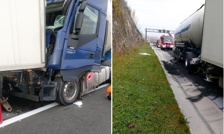 Sudarila se dva kamiona na autocesti A1 prema Dubrovniku