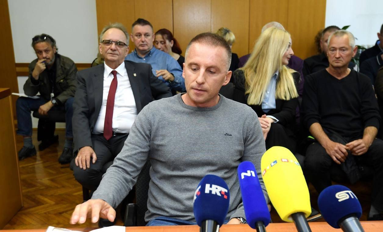 Zagreb: Krunoslav Fehir svjedočio na suđenju Branimiru Glavašu