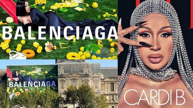 Pjevačica Cardi B postala novo lice modnog branda Balenciaga