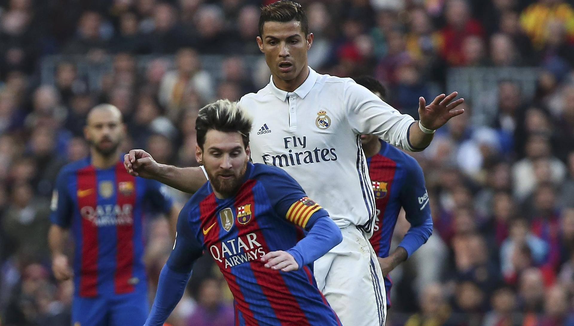 Football Soccer - Barcelona v Real Madrid - Spanish La Liga Santander