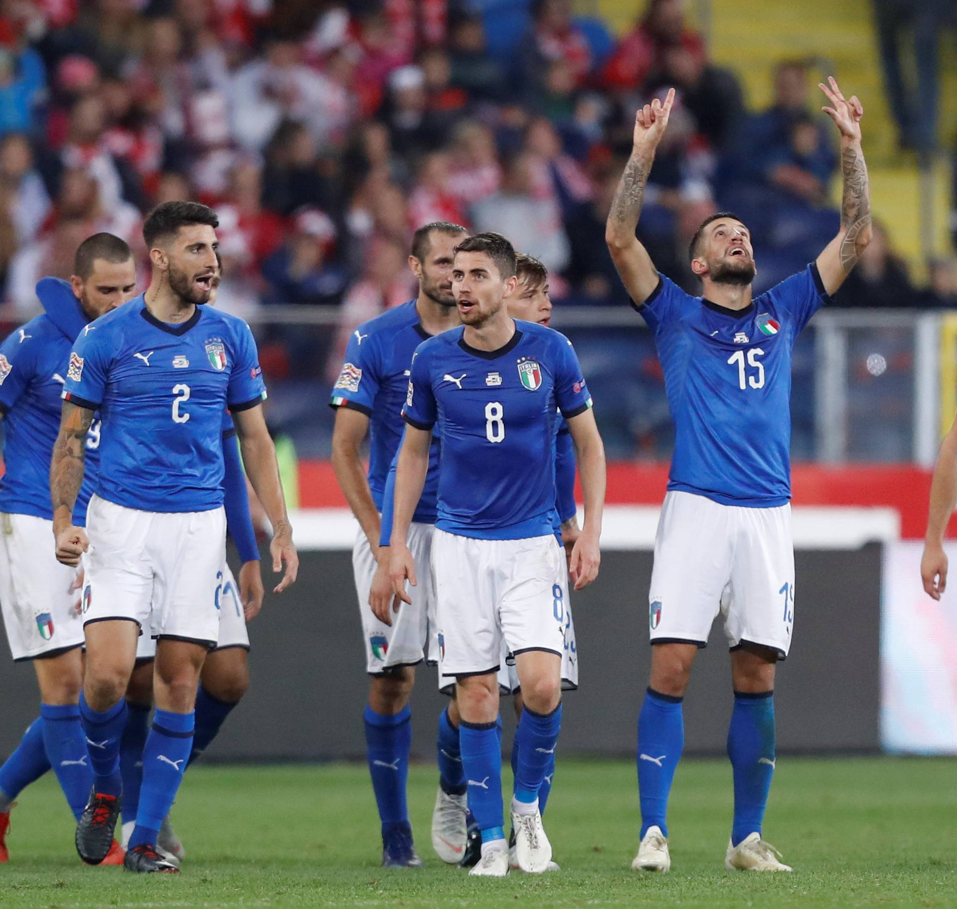 UEFA Nations League - League A - Group 3 - Poland v Italy
