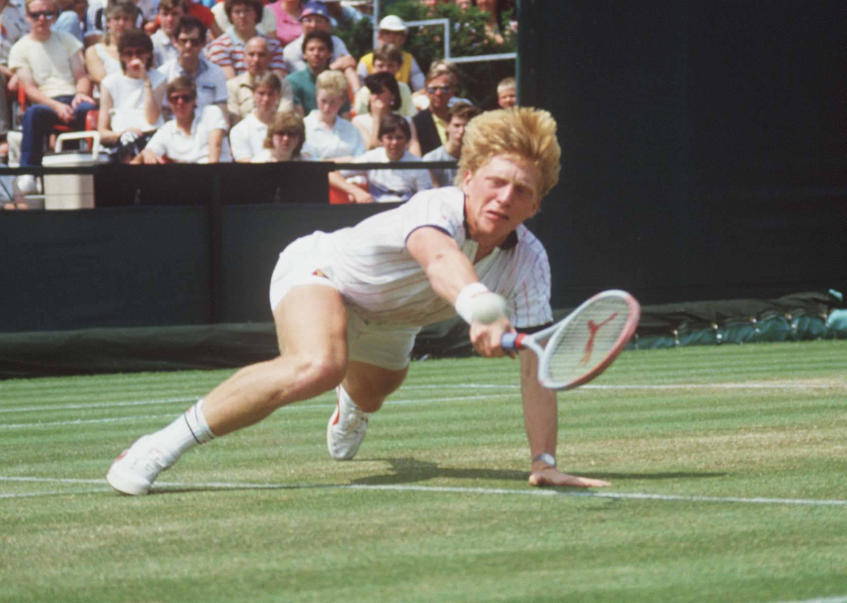 Tennis: Boris Becker wins Wimbledon  1985