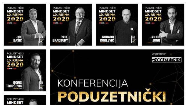 """Zvučna imena poslovnog svijeta na konferenciji """"Poduzetnički mindset 2020"""""""