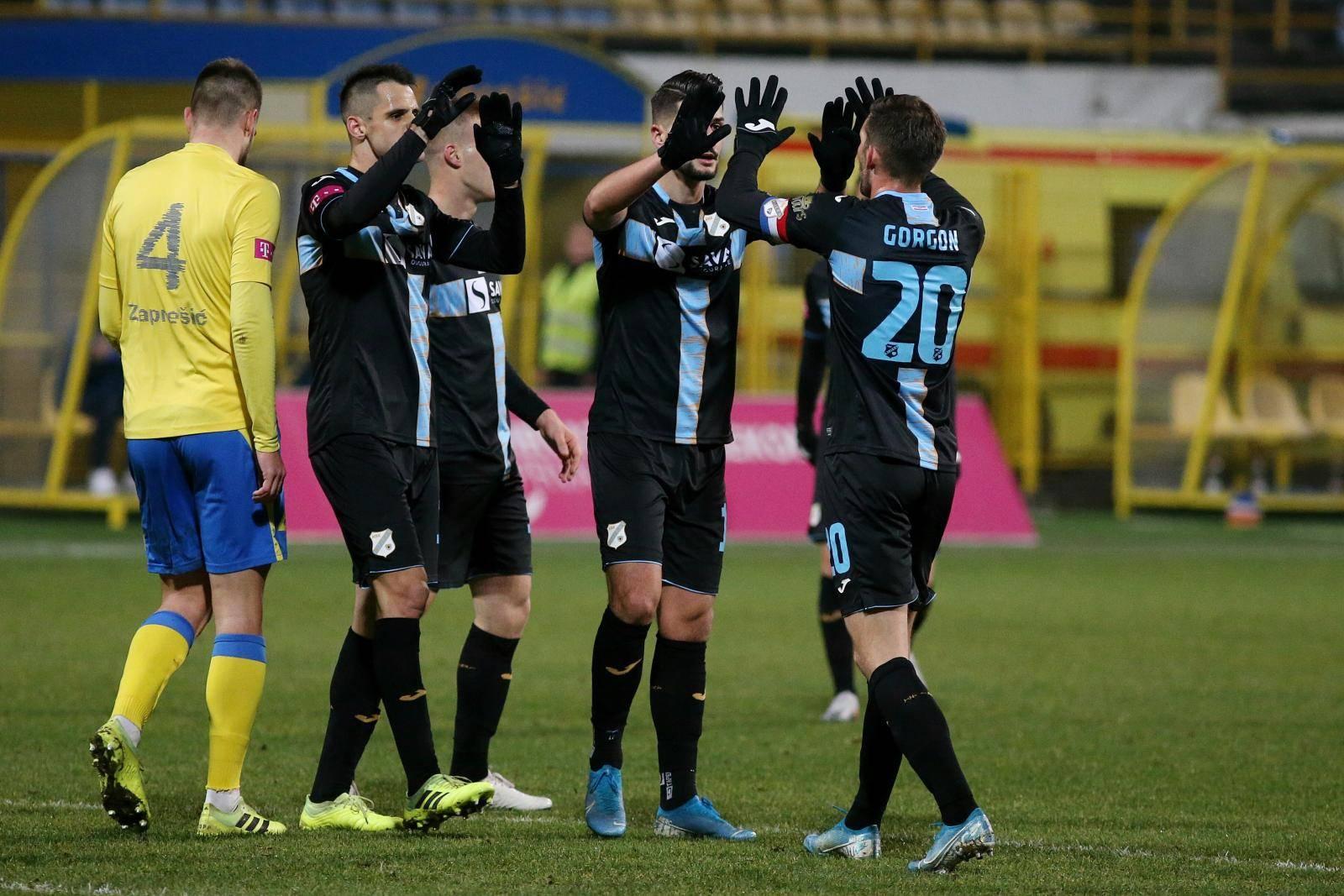 Zaprešić: Hrvatska telekom Prva liga, 16. kolo, NK Inter Zaprešić - HNK Rijeka