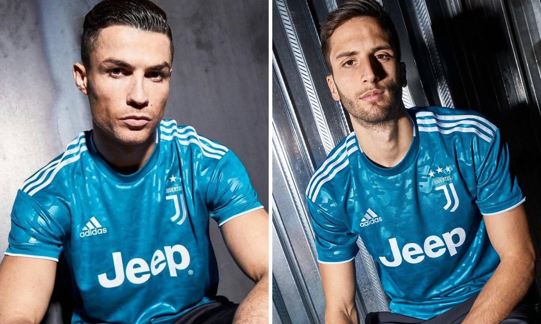 Juventus objavio kako izgleda treći dres za novu sezonu