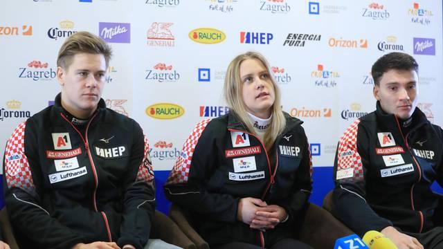 Zagreb: Konferencija za medije povodom ženskog i muškog slaloma na Sljemenu