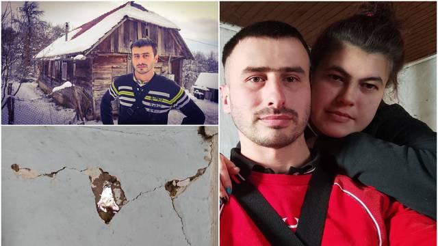 Dušan u paklu potresa: 'Strah nas je, cijelu kuću treba srušiti. Pucali su zidovi, puše kroz rupe'