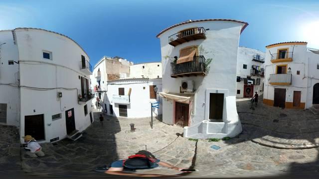 panorama: Ibiza Town.