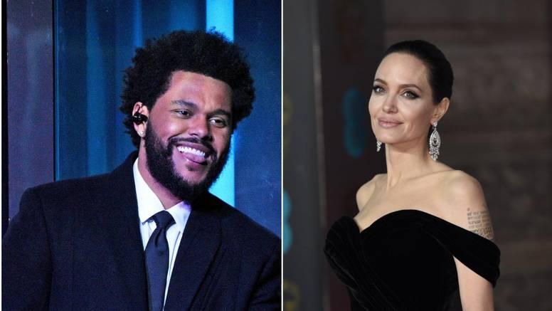 Angelina Jolie i The Weeknd ne skrivaju romansu: Ponovno ih snimili nakon zajedničke večere