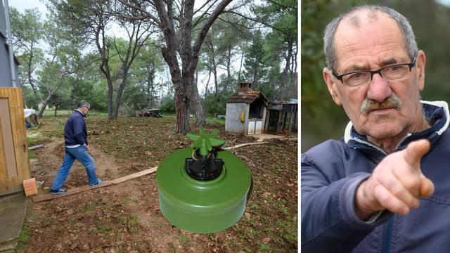 Ivan iz okolice Zadra: Živim u minskom polju 23 godine! Već smo iskopali šest 'pašteta'