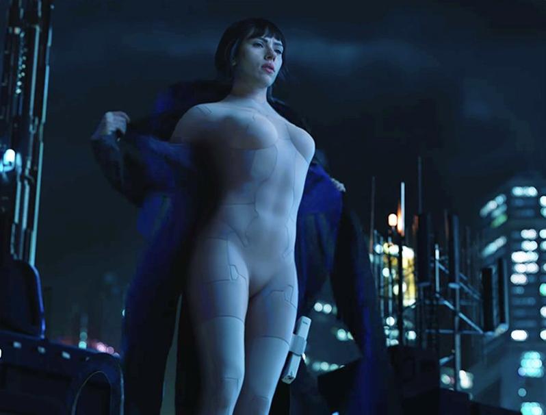 Scarlett Johansson je postala futuristička policajka-robotica