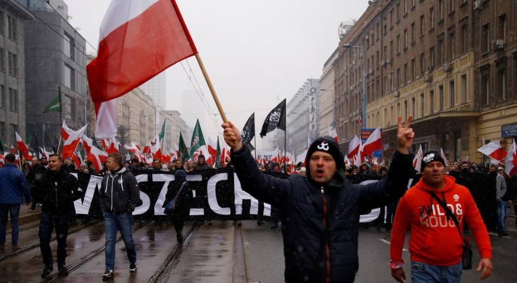 Nacionalisti marširaju kroz Varšavu: 'Smrt neprijateljima'