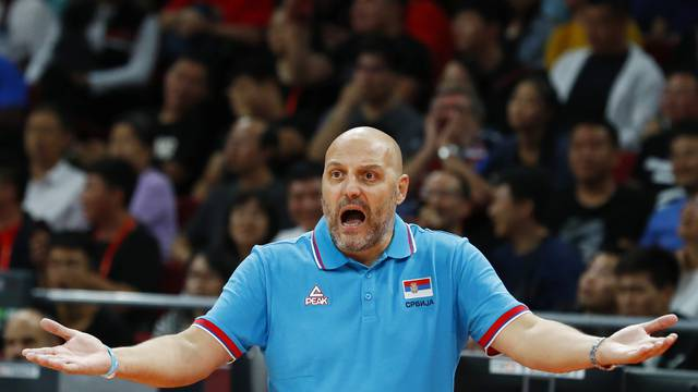 Basketball - FIBA World Cup - Classification Games 5-6 - Serbia v Czech Republic