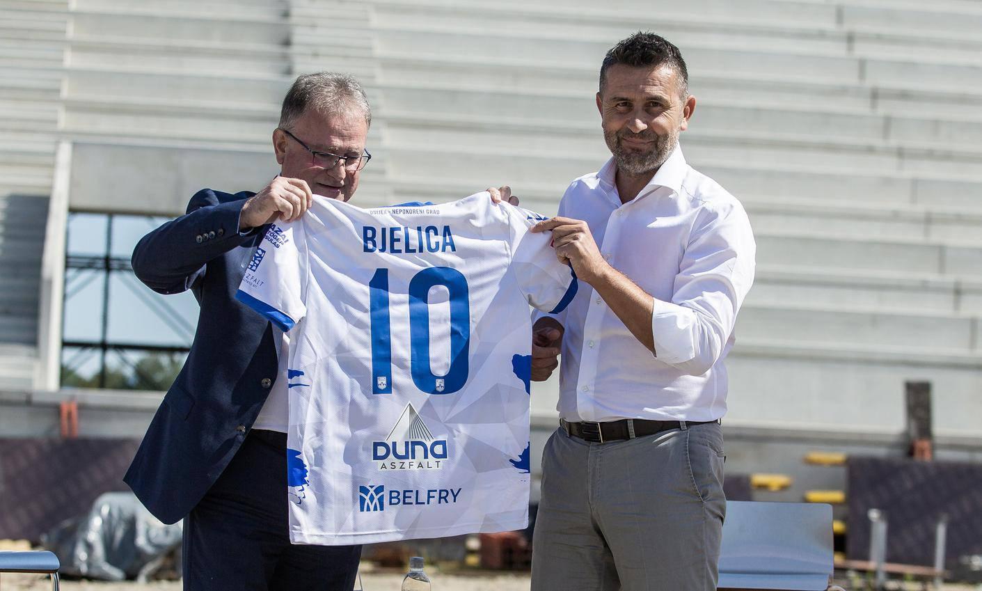 Nenad Bjelica novi je trener Osijeka