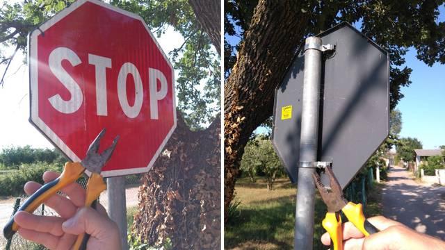 Čak 41 prometni znak nestao kod Poreča: Lako ih je skinuti