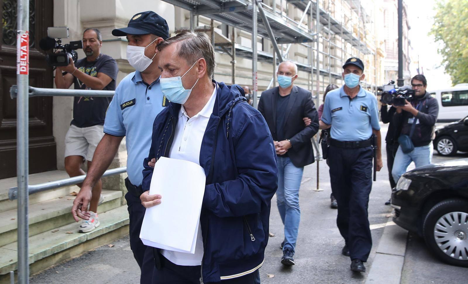 Zagreb: Dražen Barišić i Vinko Grgić dovedeni pred suca istrage zbog afere Janaf