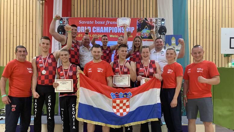 Savate reprezentacija se sa SP-a u Austriji vratila s osam medalja