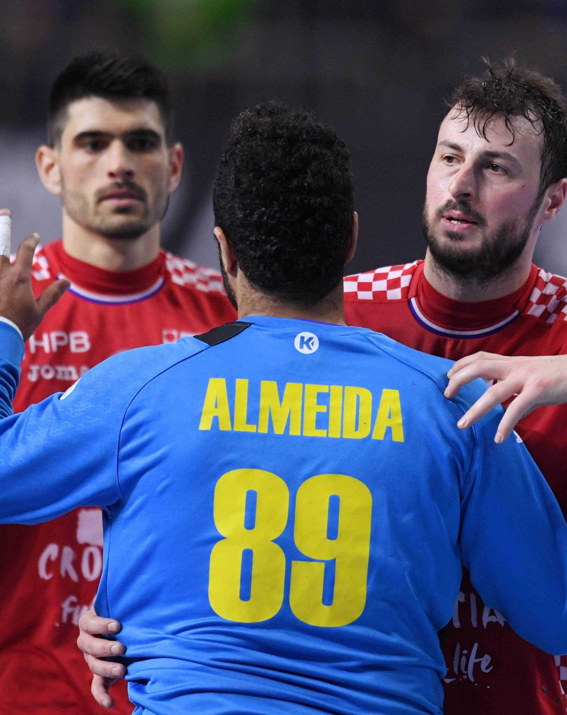IHF Handball World Championship - Germany & Denmark 2019 - Main Round Group 1 - Brazil v Croatia