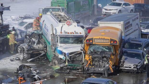 Velika magla u Kanadi: Dvjesto auta se sudarilo, ima poginulih