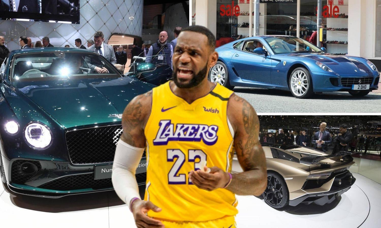 Zavirite u LeBronovu garažu: Ima čak 13 automobila, a najskuplji koštao 600.000  $