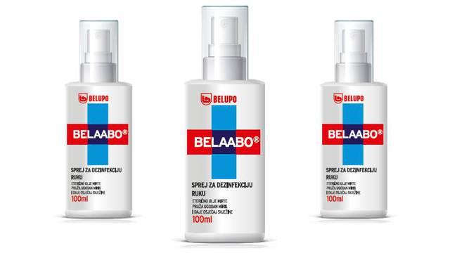 Zašto odabrati Belaabo, Belupov sprej za dezinfekciju ruku?