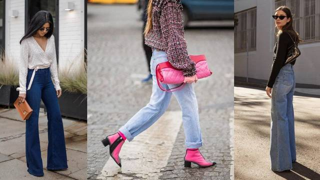 Široke traperice kao stilska baza: 10 praktičnih kombinacija
