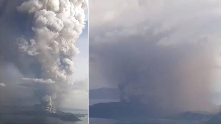 Filipini su naredili evakuaciju: Prijeti im 'vulkanski tsunami'
