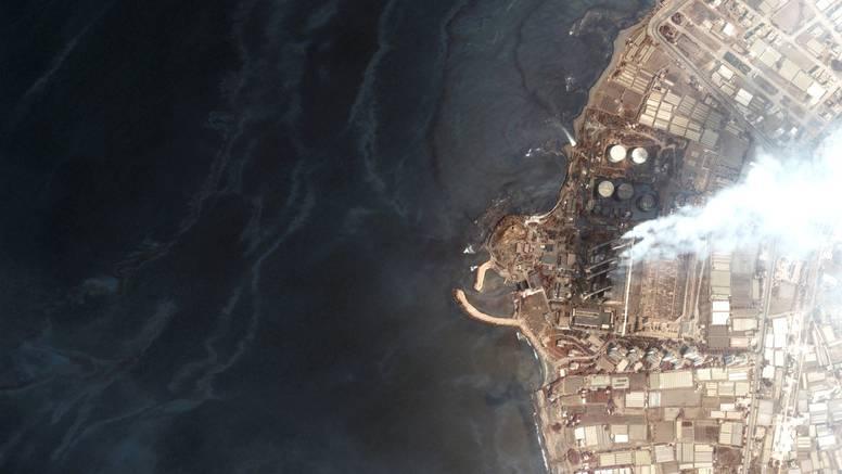 Naftna mrlja izlila se iz sirijske rafinerije, udaljava se od Cipra
