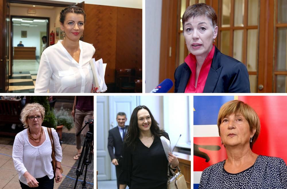 Rimac, Tomašić, Sobol...: Sve one su odbačene saborske žene