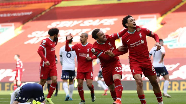 Alexander-Arnold donio bodove Liverpoolu u zadnjim minutama