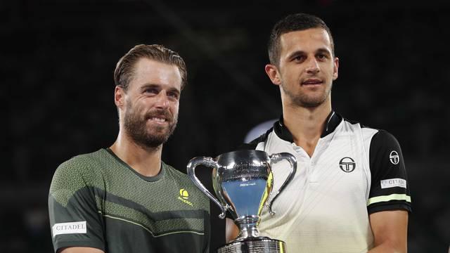 Tennis - Australian Open - Men's Doubles Final - Rod Laver Arena, Melbourne, Australia