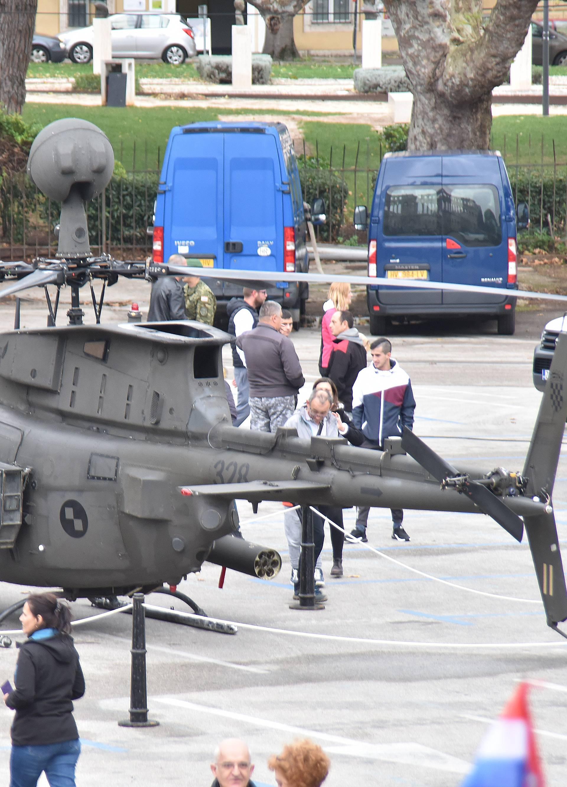 Helikopteri su nam se iz Rusije sa servisa vratili uz probleme?