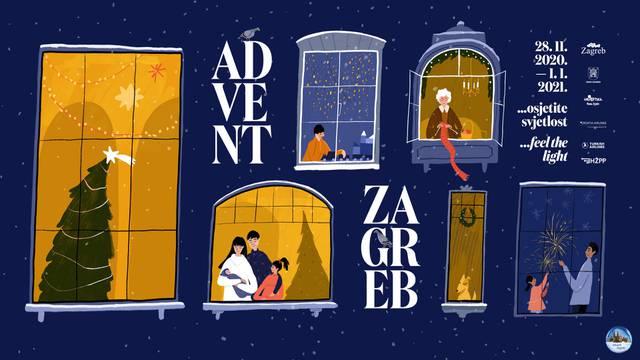 Ovogodišnji Advent Zagreb odvijat će se uz poštivanje svih epidemioloških mjera